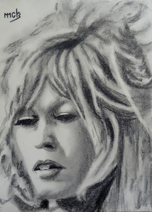 Brigitte Bardot by mick